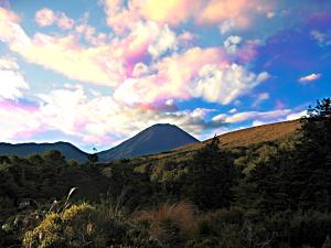 Ngauruhoe Sunset IM_blue
