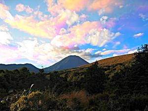 Ngauruhoe Sunset IM_green