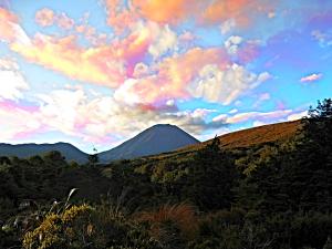 Ngauruhoe Sunset IM_red