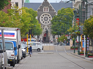 The Old Christchurch, February 16, 2009. This time only briefly through the airport, though