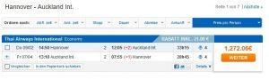Starting at... Original flight price, Bravofly, November 13, 2016