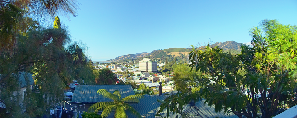 Nelson Cityscape Panorama 5:30