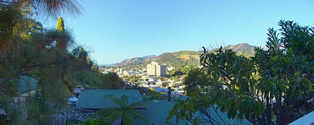 Nelson Cityscape Panorama 6:30
