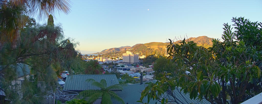 Nelson Cityscape Panorama 7:30