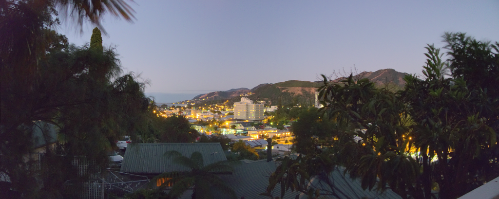 Nelson Cityscape Panorama 8:30