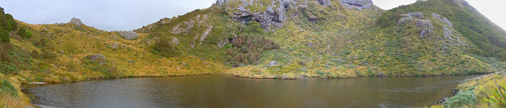 Little Wanganui Saddle Tarn, Wangapeka Track
