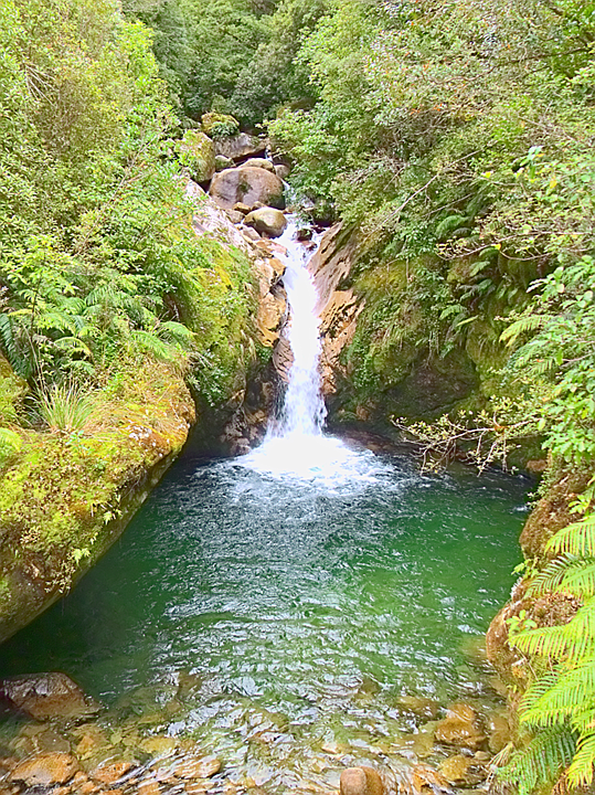 Tangent Creek Waterfall