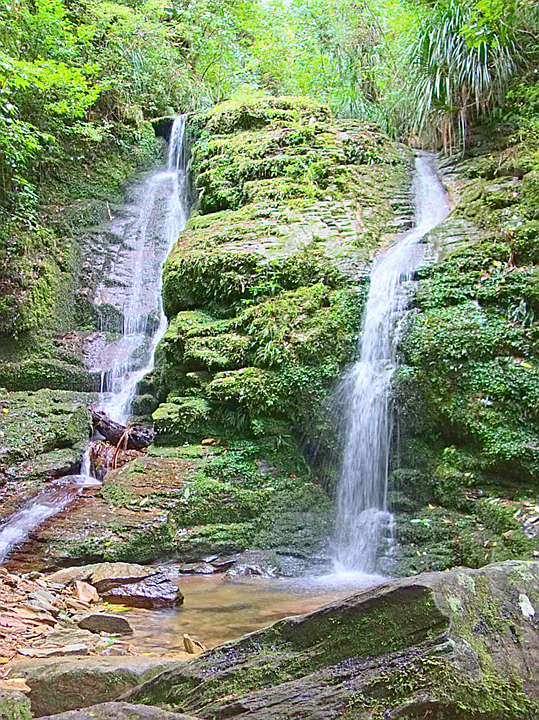 Cook Falls, exposure bracket